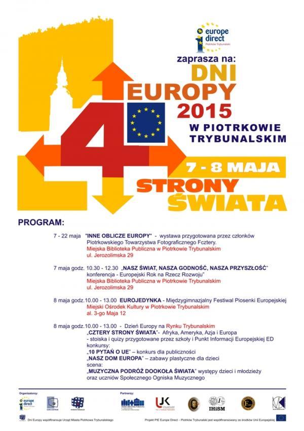 Plakat Dni Europy 2015 Krzywe