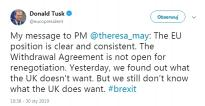 TUSK to MAY