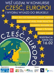 Plakat czesc europo 2