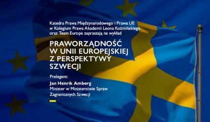 Kolegium Prawa Praworzadnosc w Unii Europejskiej z perspektywy Szwecji 27 01 2021 www wydarzenie 03