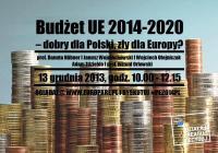 debata budzet20142020 zaproszenie