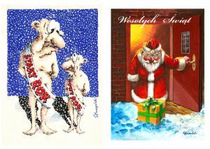 A4 Kartka świąteczna wysłać